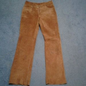 Expess leather pants